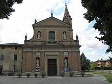 La chiesa parrocchiale di San Vitale.