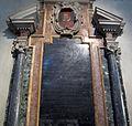 San pietro in vincoli, monumento al cardinale lanfranco margotti 02 ritratto del domenichino.JPG