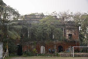 Sankrail - The Jamidarbari at Sankrail in Howrah.