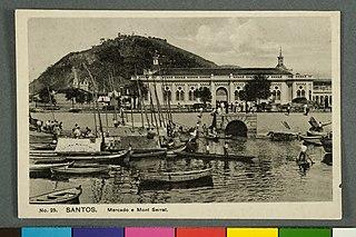 Santos. Mercado e Mont Serrat