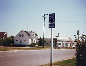 Saskatchewan Highway 15 in Melville.jpg