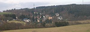 Leiningen, Germany - View of Sauerbrunnen from the southwest