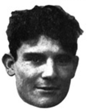 Bud Saunders - Saunders pictured in Savitar 1910, Missouri yearbook