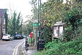 Saxon Shore Way signpost top of the High St, Upper Upnor - geograph.org.uk - 1606091.jpg