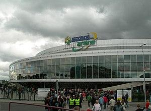 2005–06 Euroleague - The Sazka Arena in Prague hosted the Final Four