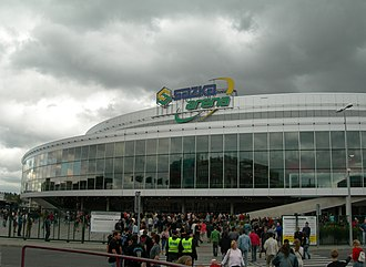 2005–06 Euroleague - The Sazka Arena in Prague hosted the Final Four