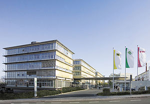 Herzogenaurach - Schaeffler's corporate headquarters in Herzogenaurach