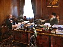 Schirrmacher and Ecumenical Patriarch.jpg