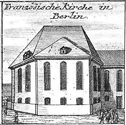 Schleuen - Französische Kirche Berlin 1757.jpg