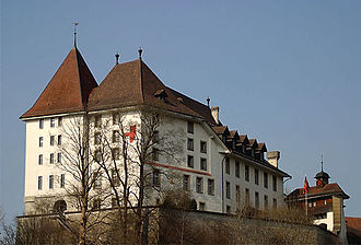 Sumiswald - Sumiswald Castle, former home of Teutonic Knights' commandery