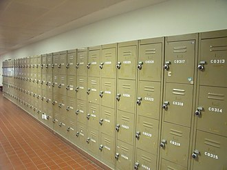 Locker -  School lockers found in National University of Singapore, Singapore.