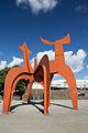 Sculpture Hellebardier Alexander Calder Nordufer Hanover Germany 02a.jpg