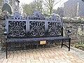 Seat, British Legion Garden, Randalstown - geograph.org.uk - 636563.jpg