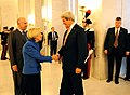 Secretary Kerry Is Greeted By Italian Foreign Minister Bonino.jpg
