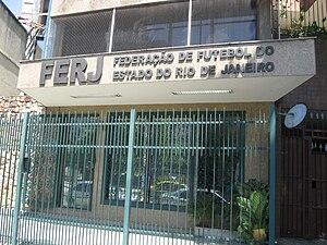 Federação de Futebol do Estado do Rio de Janeiro - Seat of the FERJ in Maracanã