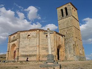Dodecagon - The Vera Cruz church in Segovia