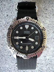 08b784f0e Seiko 7002-7020 Diver's 200 m on a 4-ring NATO style strap made of  ballistic nylon.