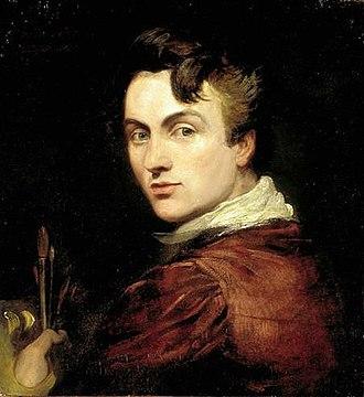 George Hayter - Self portrait of George Hayter aged 28, painted in 1820 (National Portrait Gallery)