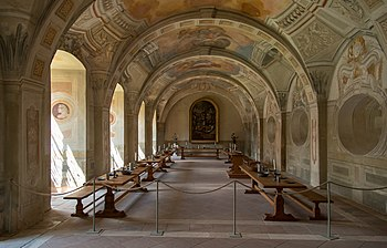 The summer refectory of the Seligenstadt monastery