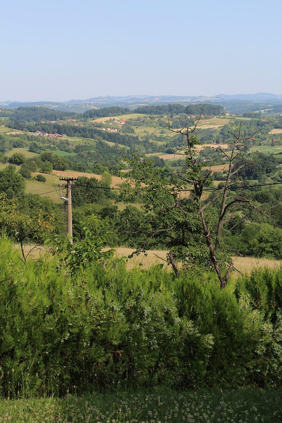 Selo Mrčić - opština Valjevo - zapadna Srbija - Panorama 30