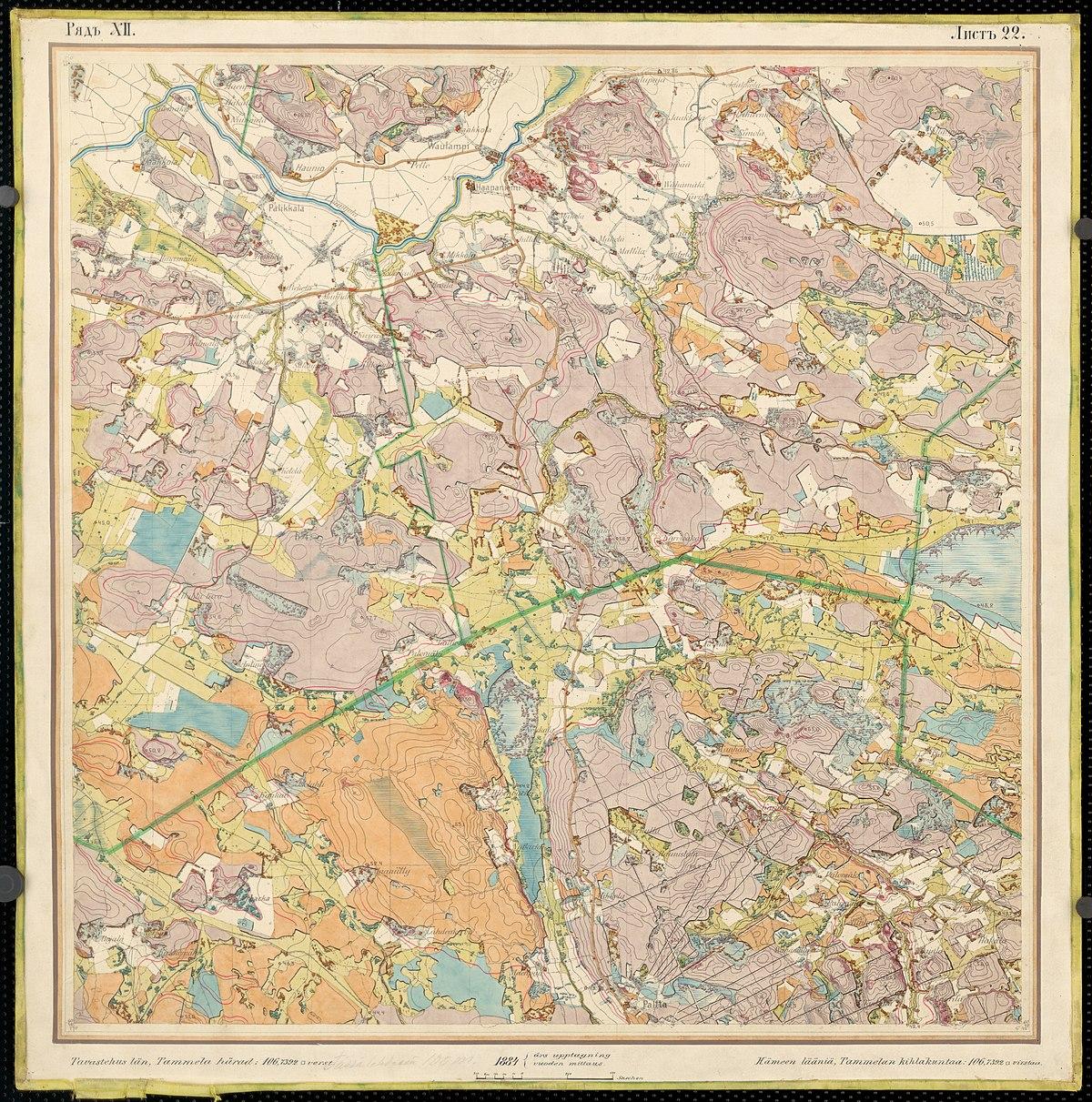 File Senate Atlas 1870 1907 Sheet Xii 22 Jokioinen Jpg