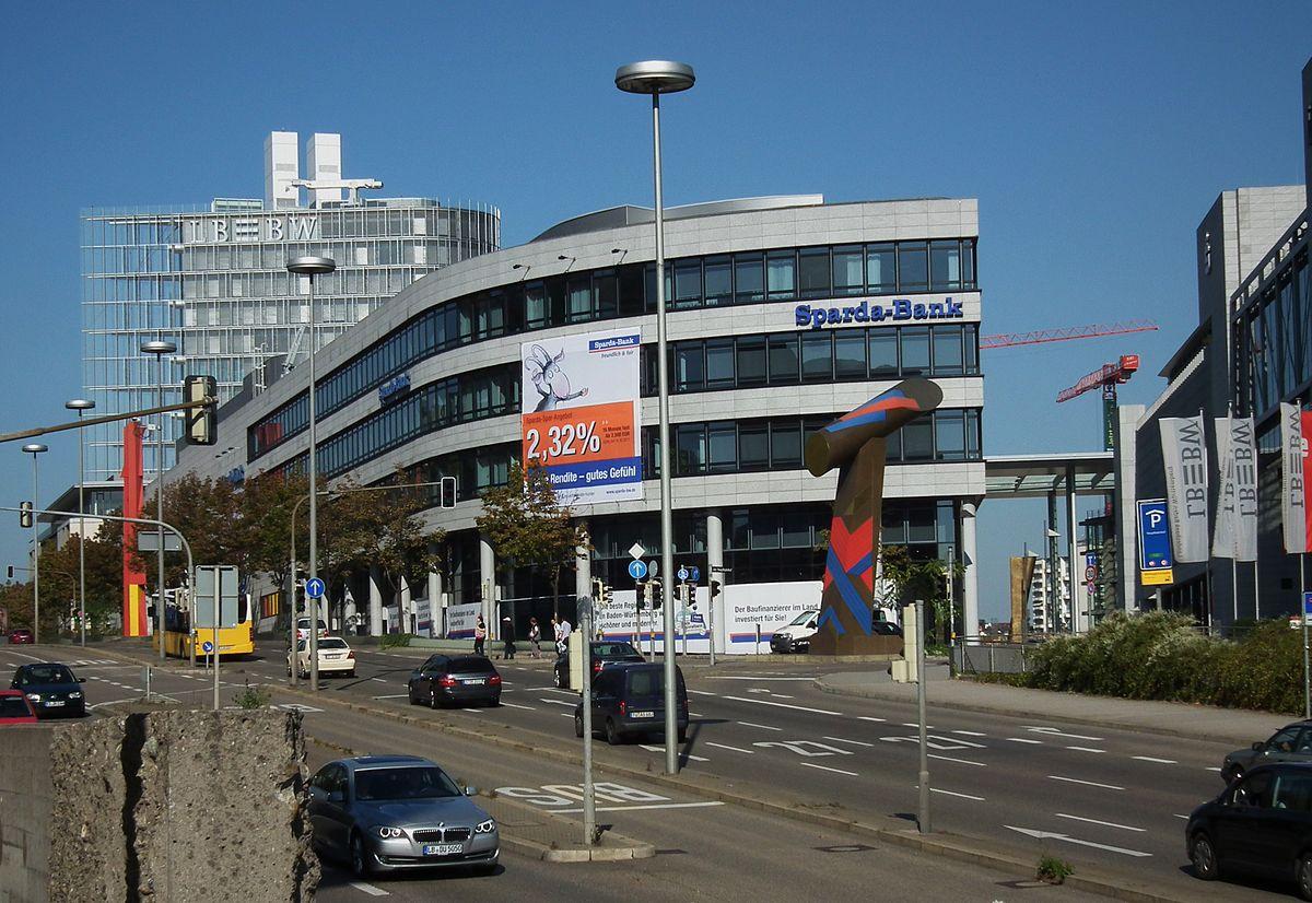 File September 2011 Landesbank Bw Und Sparda Bank Stuttgart Innenstadt Jpg Wikimedia Commons