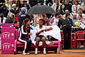 Serena Williams and Mary Joe Fernandez (7105327299).jpg