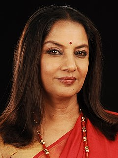 Shabana Azmi Indian actress
