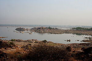 Shamirpet Lake - A view of Shamirpet Lake in Shamirpet, Rangareddy district, Telangana, India.