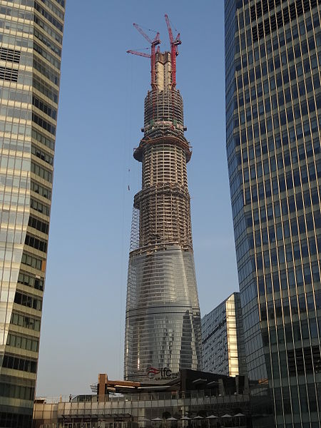 File:Shanghai Tower (under construction).JPG