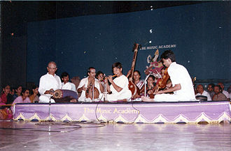 Shashank Subramanyam - Shashank Subramanyam performing the Sadas concert at The Music Academy. 1 Jan 1991