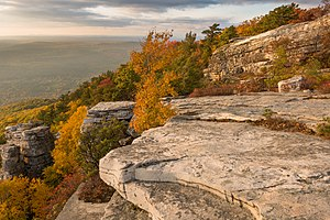 Shawangunk Ridge - The ridge within the Bear Hill Preserve in Cragsmoor