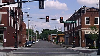 Sheffield, Alabama - Sheffield Downtown Commercial Historic District