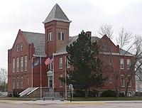 Sheridan County, Nebraska courthouse from NW 1.jpg