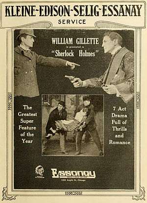 Sherlock Holmes (1916 film) - Ad in Moving Picture World (October 1916)