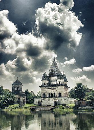 Hinduism in Bangladesh - Shiva Temple, Puthia, Rajshahi.