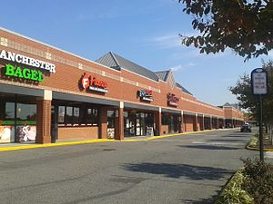 Franconia, Virginia - Shops at the Festival at Manchester shopping plaza