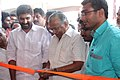 Shri E. T. Muhammed Basheer, MP inaugurating the exhibition stalls as part of the Bharat Nirman Public Information Campaign, organised by Press Information Bureau, Cochin, at Chalissery.jpg