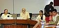 Shri Kirit Somaiya along with a delegation of Artificial Limbs Beneficiaries meeting the Prime Minister, Shri Narendra Modi, in New Delhi on April 27, 2015. The Speaker, Lok Sabha, Smt. Sumitra Mahajan is also seen.jpg