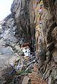 Shrine near the Tiger's Nest - Paro Buddhist Taktsang Palphug Monastery sacred site in the upper Paro Valley - panoramio.jpg