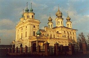 Shuya, Ivanovo Oblast - Nikolo-Shartomsky Abbey