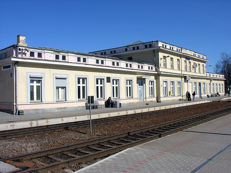 Trem na Lituânia
