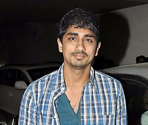 Siddharth (actor) - Siddharth at screening of Chashme Baddoor