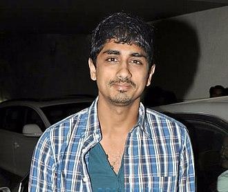 Siddharth (actor) - Siddharth at screening of Chashme Baddoor
