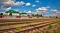 Side view of Cherusty station in summer.jpg