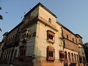Side view of Summer palace of Ranjit Singh, the founder Sikh Empire, Amritsar.jpg