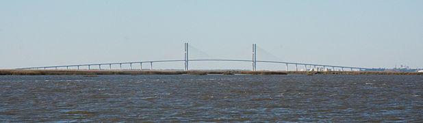 Bridge under construction april 2001 sidney lanier bridge june 2005