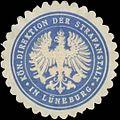 Siegelmarke Kön. Direktion der Strafanstalt in Lüneburg W0334752.jpg