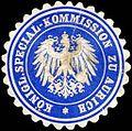 Siegelmarke Königliche Special - Kommission zu Aurich W0204643.jpg