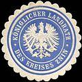 Siegelmarke K. Landrath des Kreises Znin-Pommern W0210067.jpg